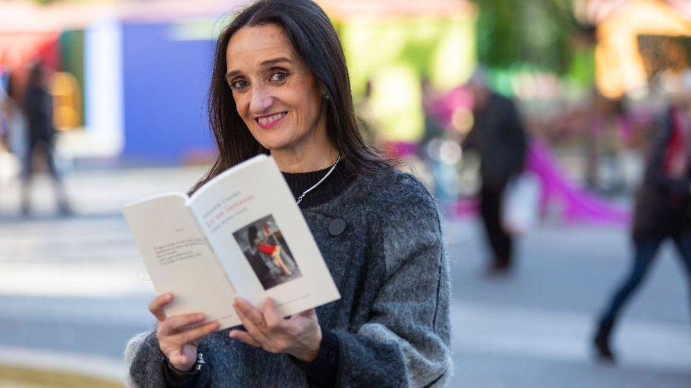 Foto: Antonia Cortés ha publicado el poemario 'En un instante'. (Tomás Fernández de Moya)