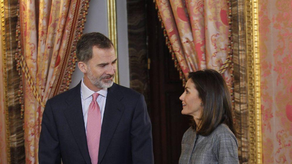 Foto: Felipe y Letizia en una imagen de archivo. (Cordon Press)
