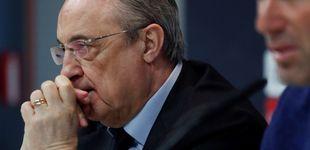 Post de La cara de repóquer de Florentino tras la espantada del 'presidente' Zidane