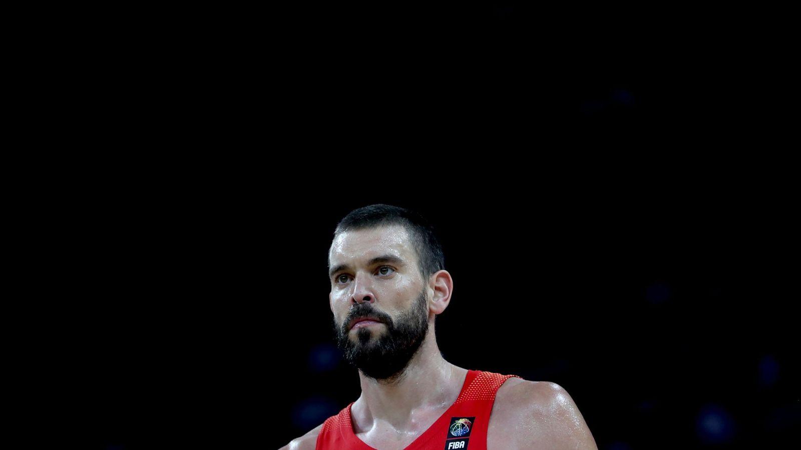 """Foto: """"Tenía muchas ganas de jugar bien"""", dijo Marc Gasol tras la victoria ante Alemania en cuartos de final del EuroBasket. (EFE)"""
