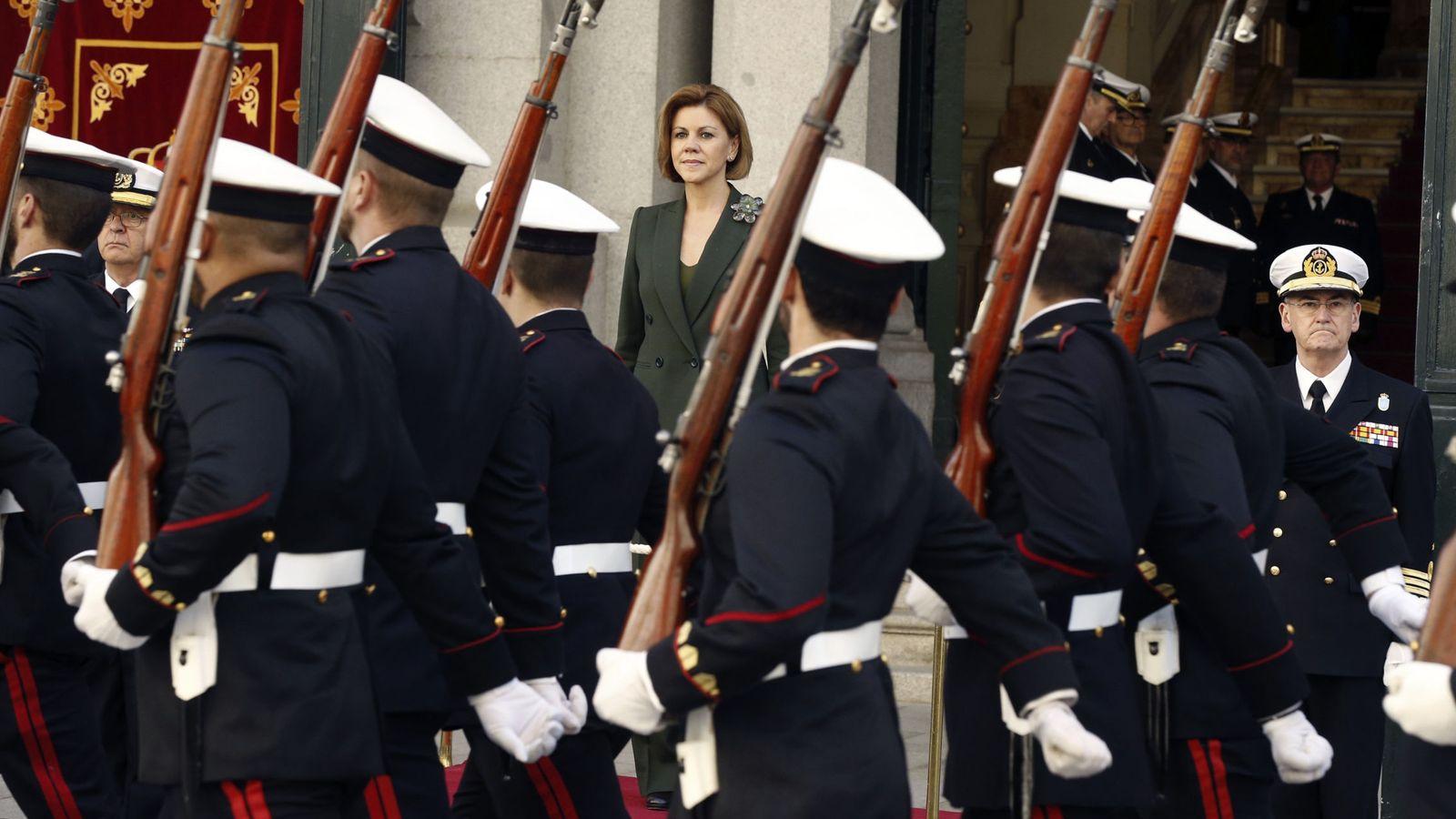 Foto: - La ministra de Defensa, María Dolores de Cospedal. (EFE)