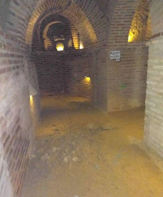 Foto: Una de las cuevas de Navalcarnero, actualmente cerrada.