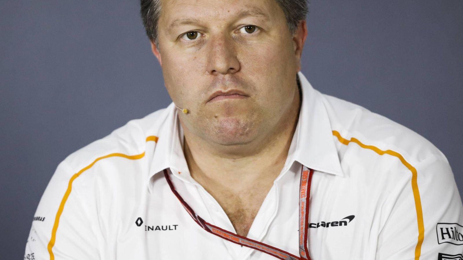 Foto: Zak Brown, el actual responsable del devenir de McLaren en los circuitos. (Imago)