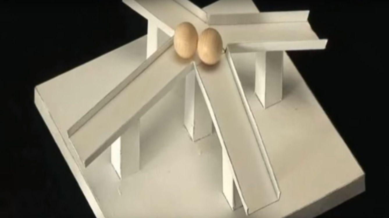 ¿Cómo desafían estas esferas a la gravedad? La mejor ilusión óptica jamás vista