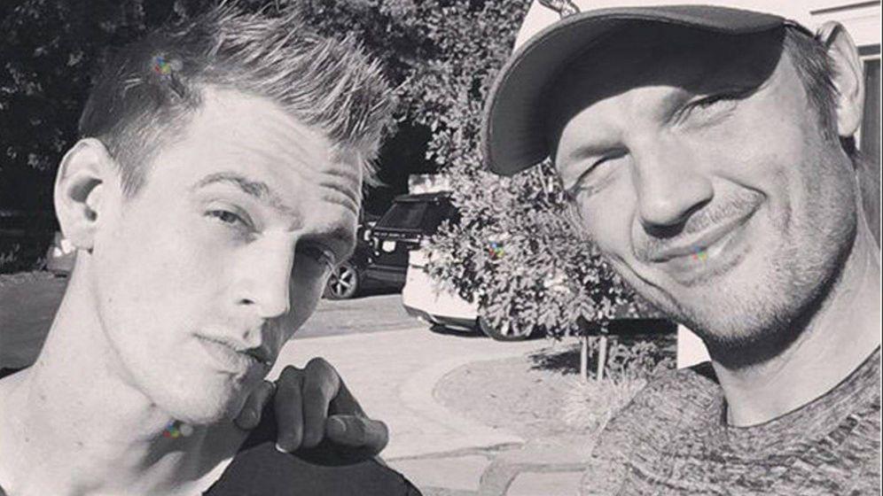 Foto: Aaron y Nick Carter, en una imagen de archivo. (Cordon Press)
