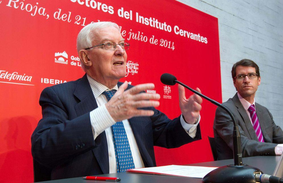 Foto: Víctor García de la Concha, director del Cervantes (EFE)