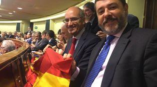 El insólito aplauso entre PP y Podemos por la despedida del diputado Candón