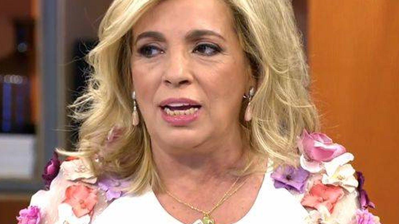 Carmen Borrego, en 'Viva la vida'. (Telecinco)