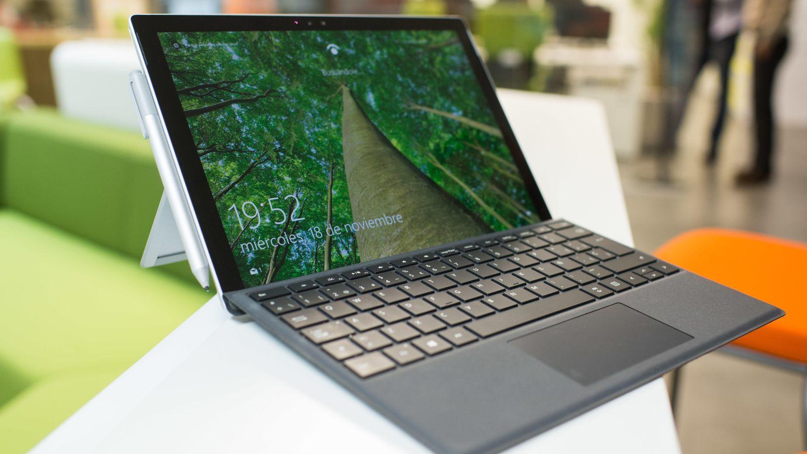 Portátiles: Microsoft Surface Pro 4, a prueba: este sí el portátil ...