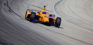 Post de Fernando Alonso y la cruda realidad de su primer día serio en Indianápolis