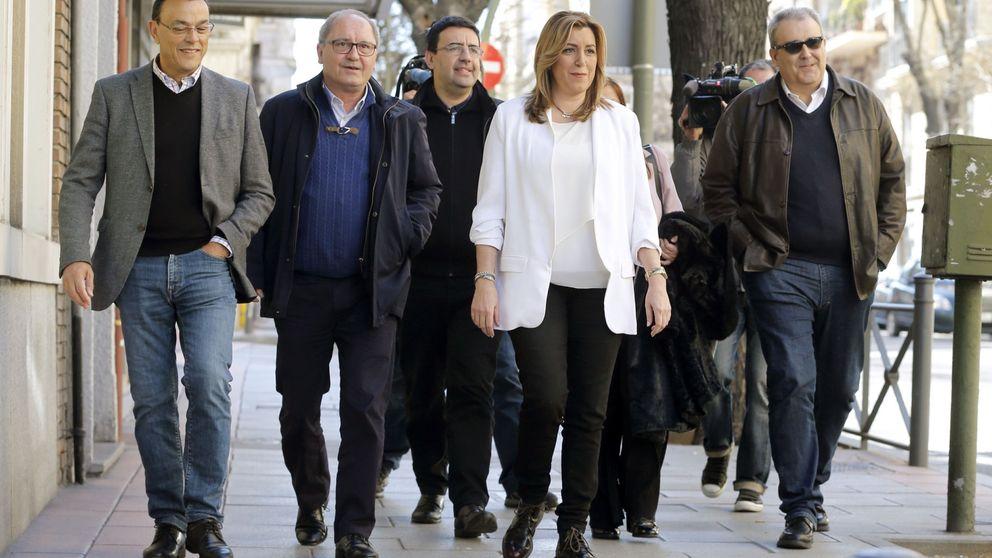 Díaz se citó con dirigentes en Madrid para asegurarles que peleará contra Sánchez
