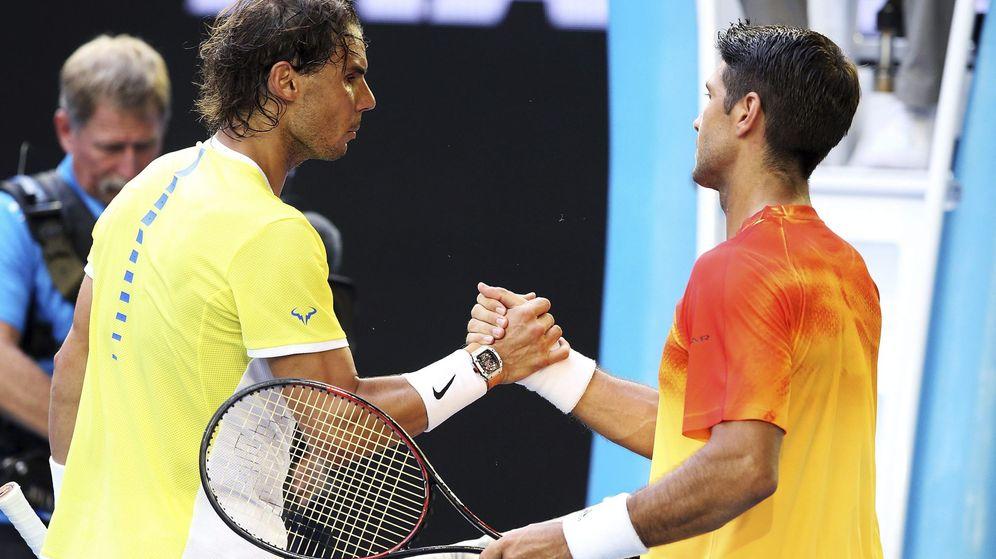 Foto: Nadal y Verdasco se enfrentan en Indian Wells. (EFE)