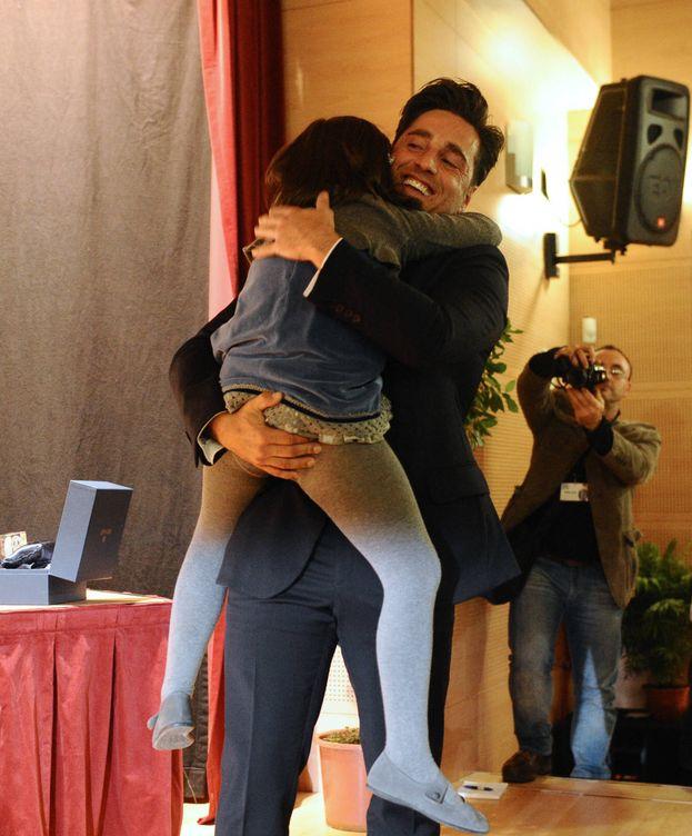 Foto: David Bustamante junto a su hija en una imagen de archivo (Gtres)