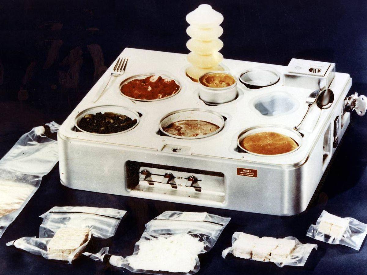 Foto: El calentador de comida del proyecto Skylab permitió la mejor nutrición de astronautas. (Foto: NASA)