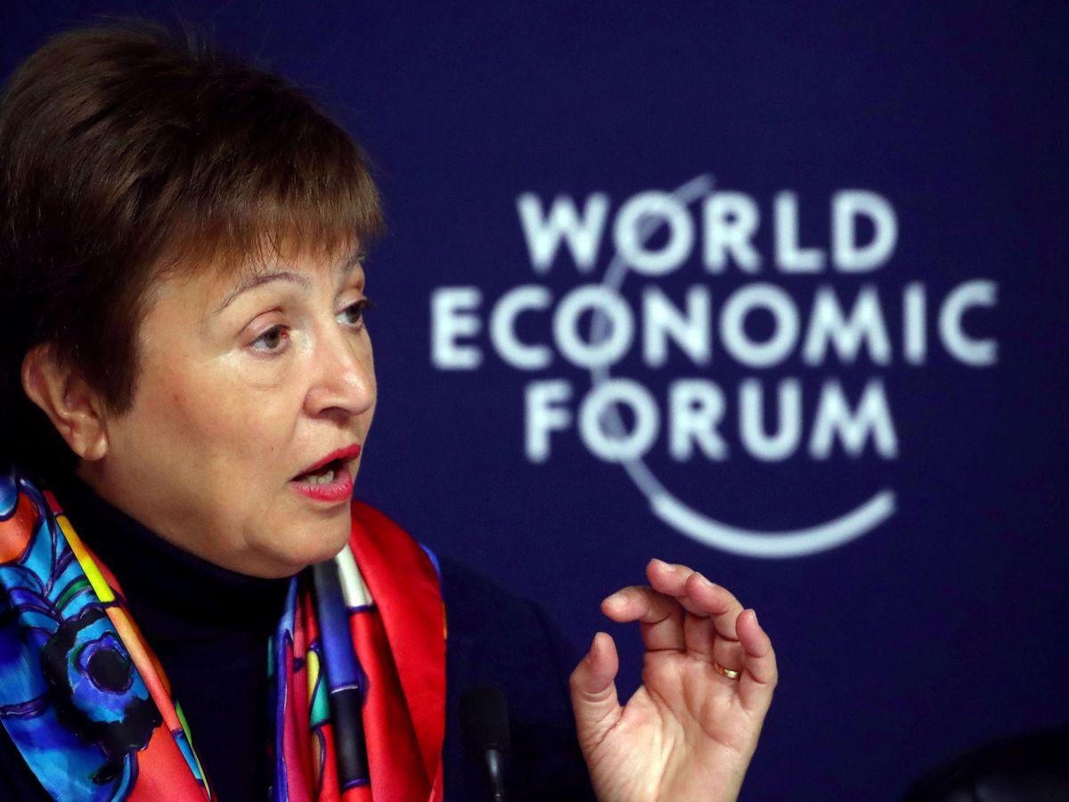 Foto: La directora gerente del FMI, Kristalina Georgieva (Reuters).