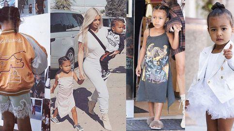 ¿Cuánto cuesta el armario de North West, la hija de Kim Kardashian?
