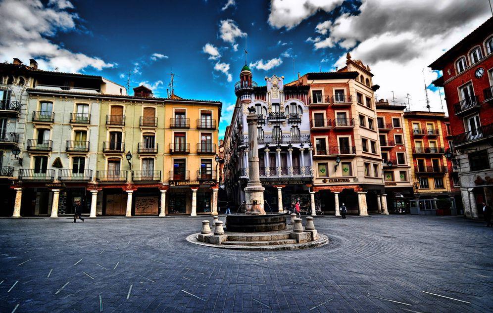 Foto: La plaza del Torico en Teruel. (Cortesía Gran Hotel Botánicos)