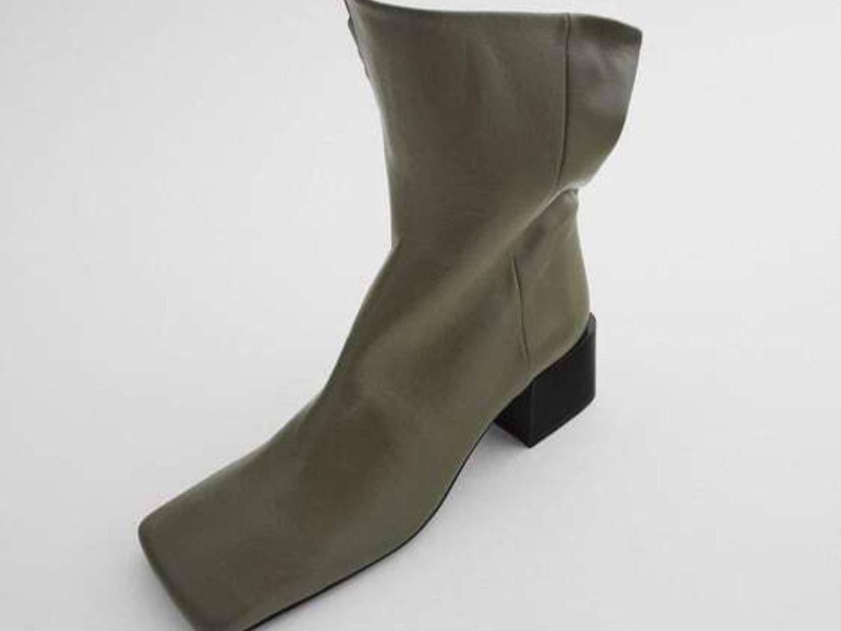 Foto: Los nuevos botines de Zara. (Cortesía)