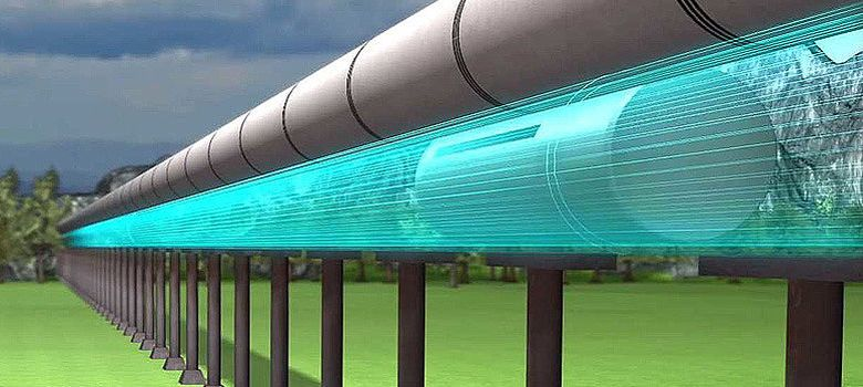 Foto: Hyperloop, el transporte terrestre casi supersónico ideado por Elon Musk