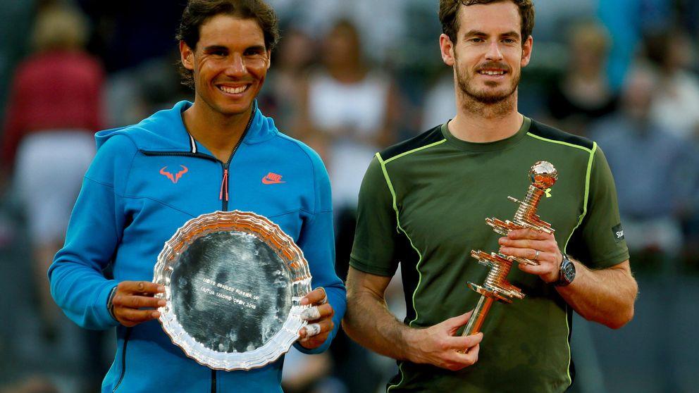 Un brillante Murray deja a Rafa Nadal con la miel en los labios en Madrid