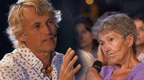 Las lágrimas de Jesús Calleja con la dura vida de Benita, en el final de 'Volando voy'