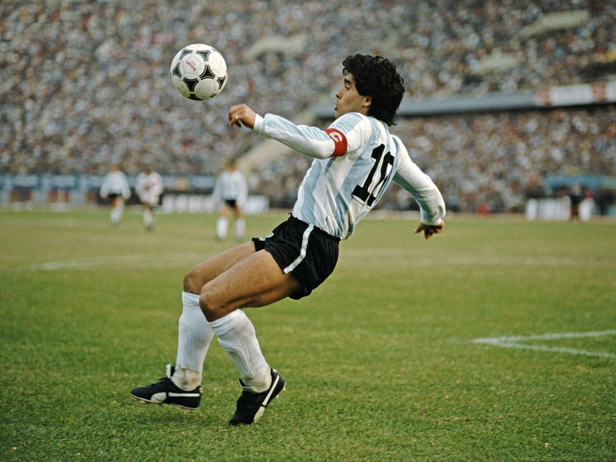 Foto: Diego Armando Maradona. (Getty)