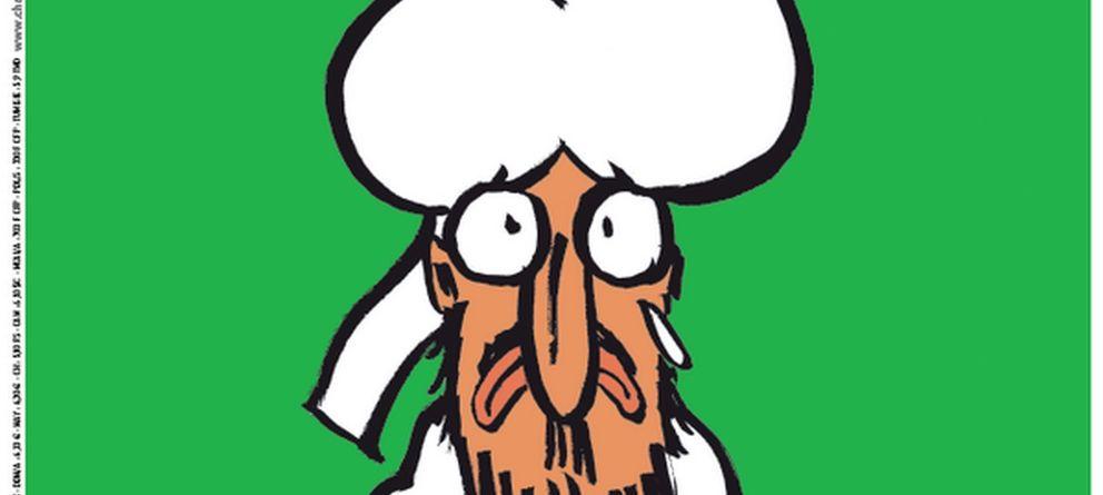 Foto:  Charlie Hebdo publica su última portada: Todo queda perdonado