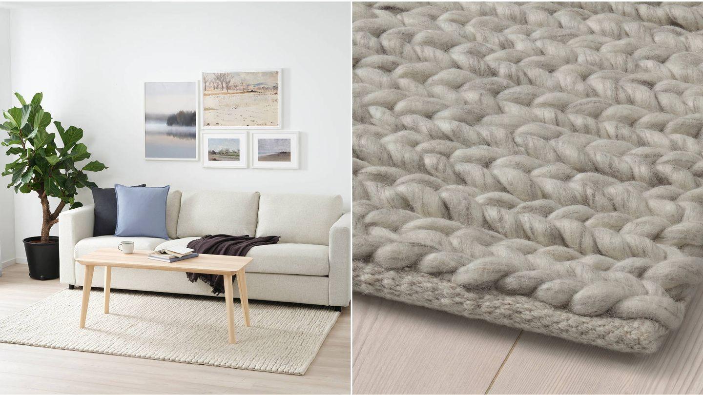 Alfombras de Ikea para un ambiente confortable y cálido. (Cortesía)