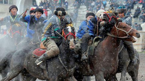 Rusia se prepara para las elecciones y la primavera llega a Kirguizistán: el día en fotos