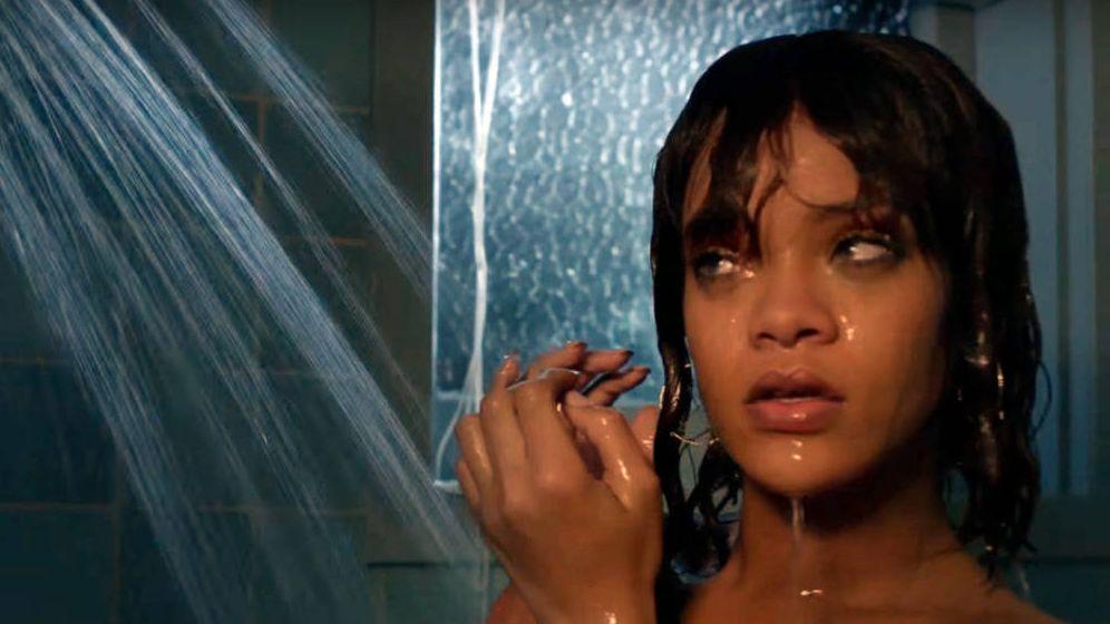 Foto: Rihanna en un fotograma de 'Bates Motel'.