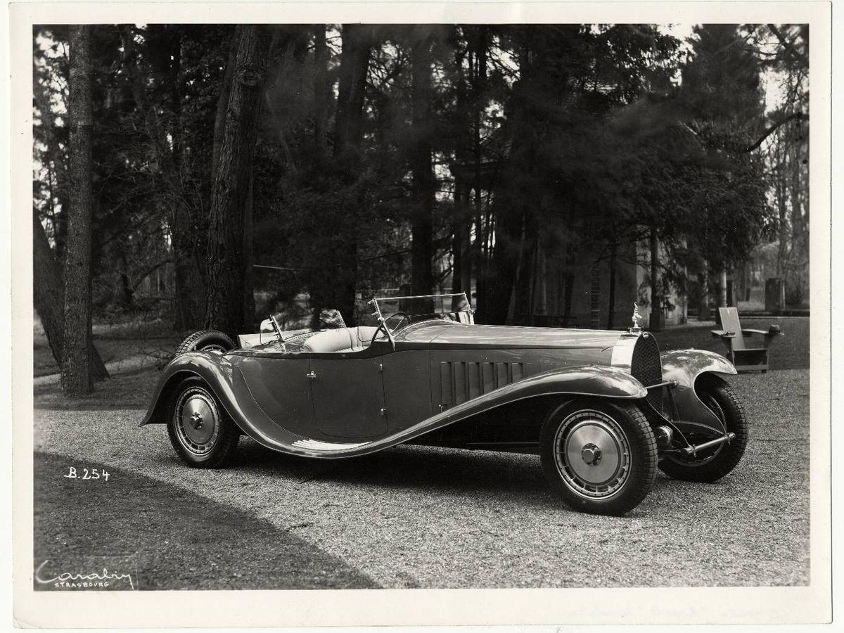 Foto: Este fue el primer Bugatti Royale Type 41 vendido, una versión descapotable de cuatro plazas