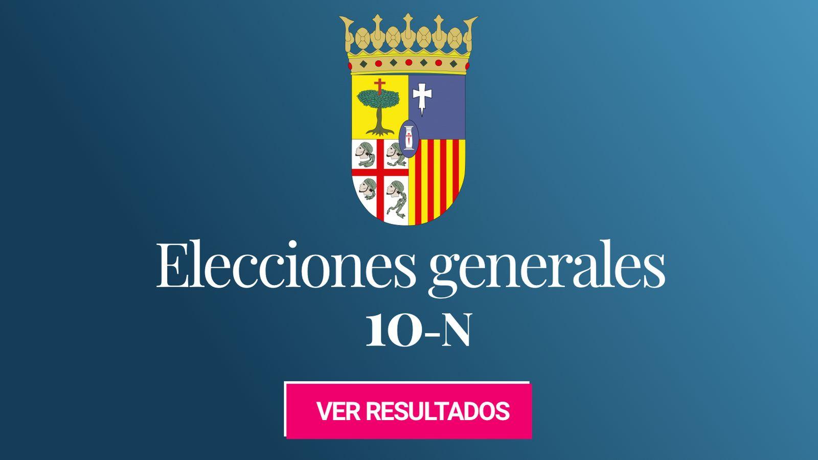 Foto: Elecciones generales 2019 en la provincia de Zaragoza. (C.C./Willtron)