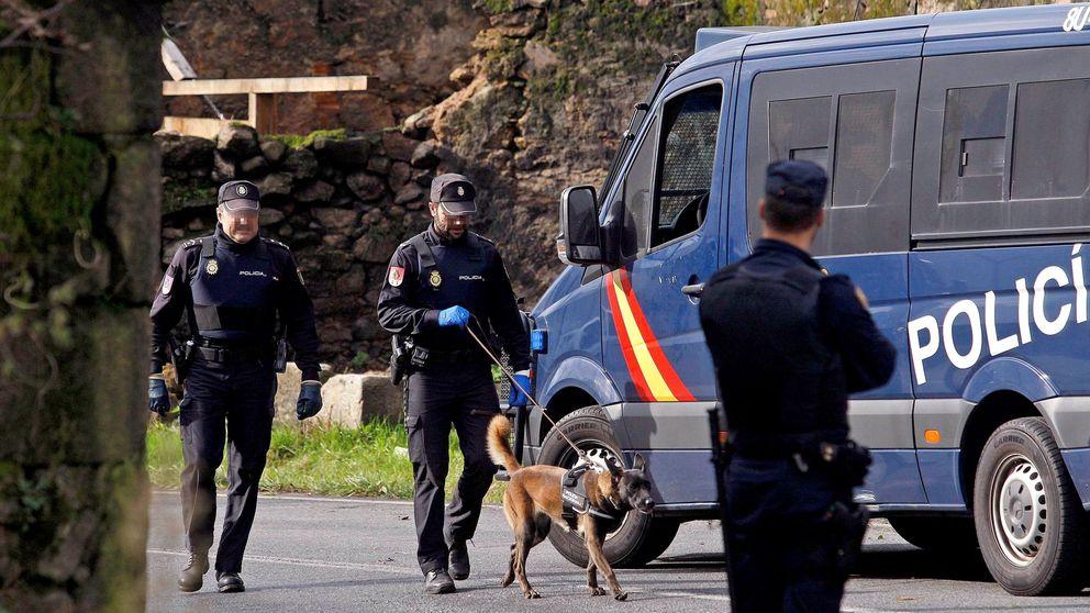 Detenido por violencia de género un hombre atrincherado en A Coruña