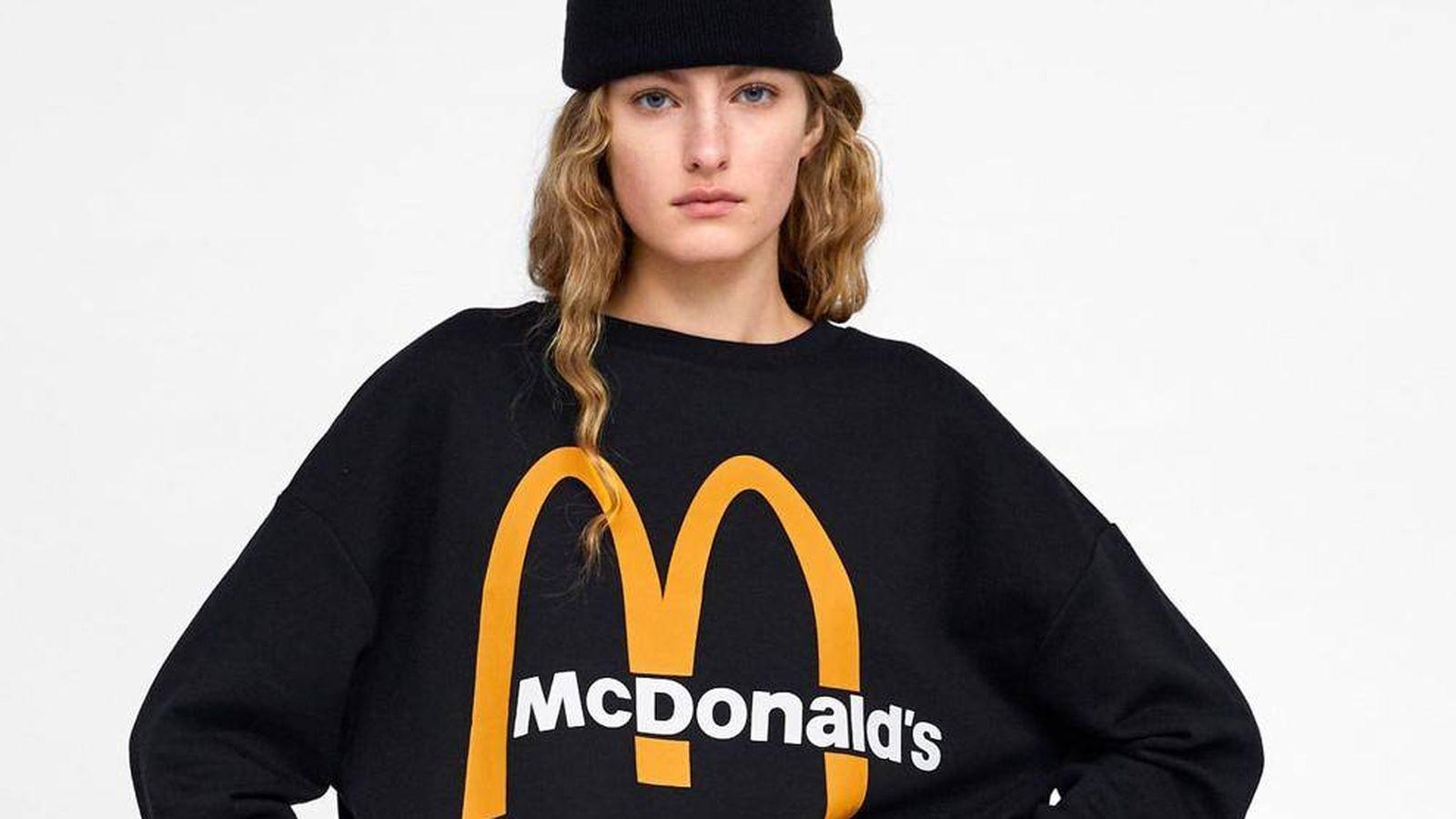 Foto: Las dos prendas que Zara ha lanzado como oda a la comida rápida. (Cortesía)