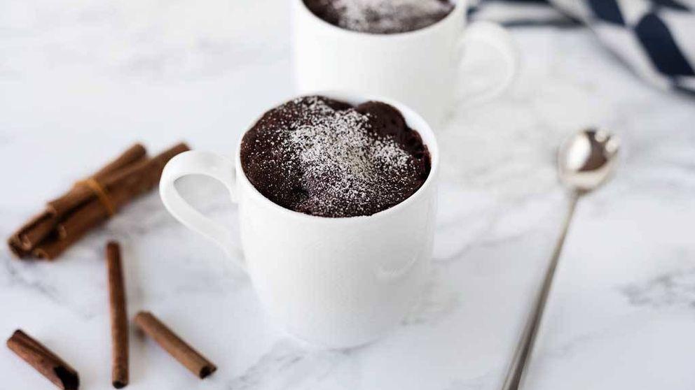 Vídeo-receta: mug cake de cacao especiado