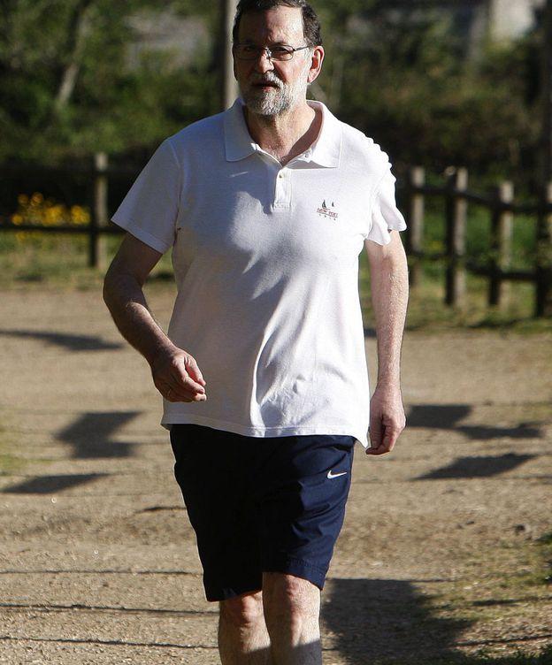 Foto: Rajoy vuelve a una de sus rutas predilectas en Pontevedra en sus vacaciones de Semana Santa. (EFE)