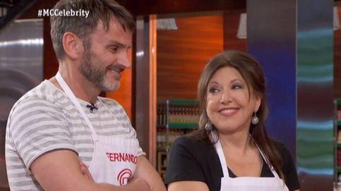 Loles León y Fernando Tejero se reconcilian en 'MasterChef Celebrity'
