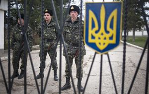 El primer ministro de Ucrania: Nunca entregaremos la península