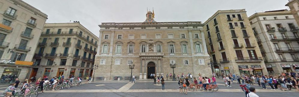 Foto: Sede de la Generalitat en Barcelona. (Google Maps)