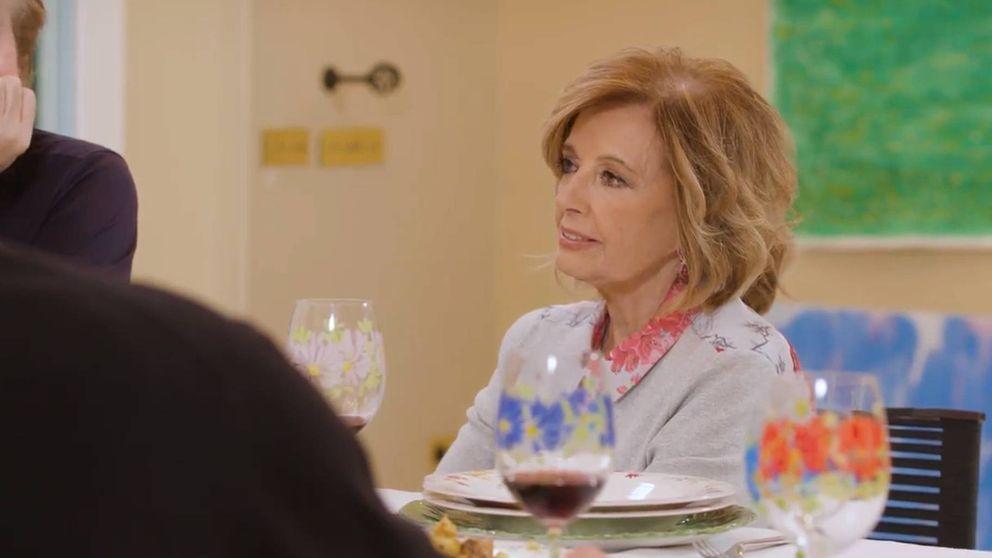 El reproche de María Teresa Campos a Bigote por participar en 'Supervivientes'