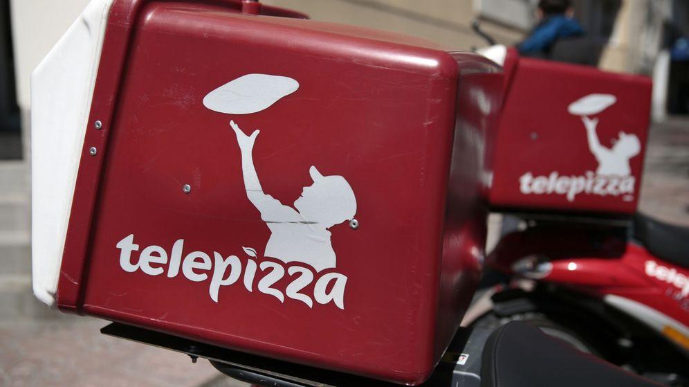 Foto: Motos de Telepizza (Reuters)