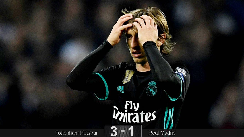 Foto: Modric, como imagen de la decepción. (Reuters)