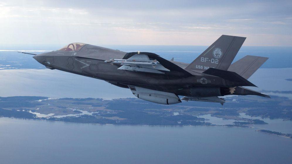 Foto: El caza F-35 fabricado por Lockheed Martin. (Reuters)