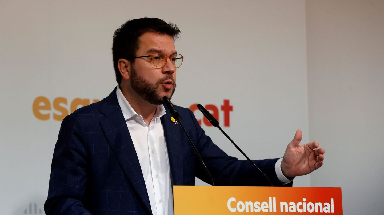 Pere Aragonès. (EFE)