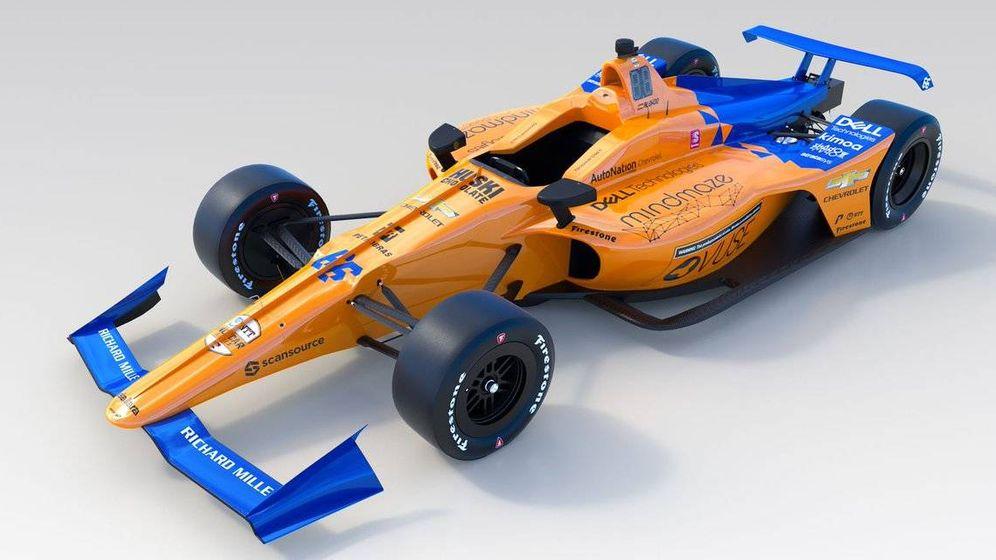 Foto: Así es el monoplaza de Fernando Alonso para las 500 Millas de Indianápolis