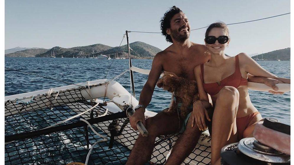 Foto: Gabriela Palatchi y su esposo, Ediz Elhadef. (Instagram)