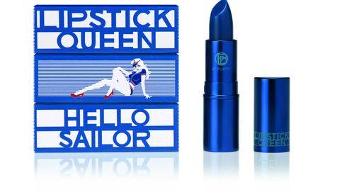 Una barra de labios azul ideal para la novia de Popeye