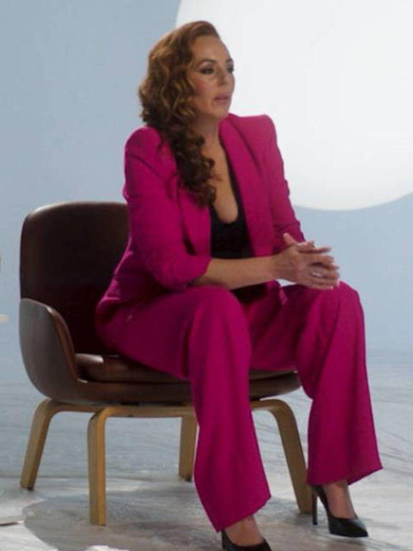 Rocío Carrasco, en su docuserie. (Mediaset)
