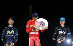 La eterna leyenda de Contador, el ciclista que nunca se rinde