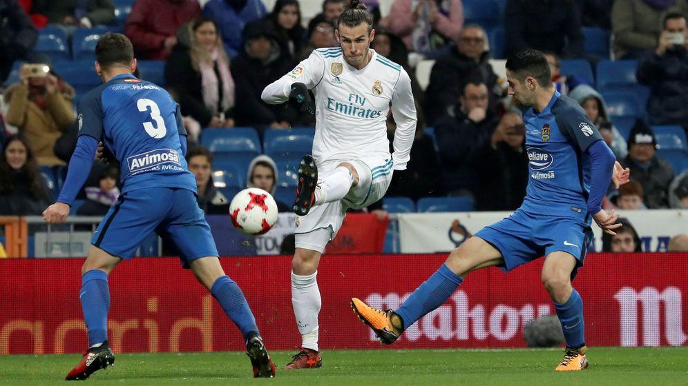 Foto: Bale, contra el Fuenlabrada. (EFE)
